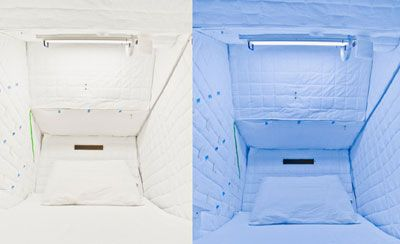 New Light Technology Solves Naptime Problems for Astronauts