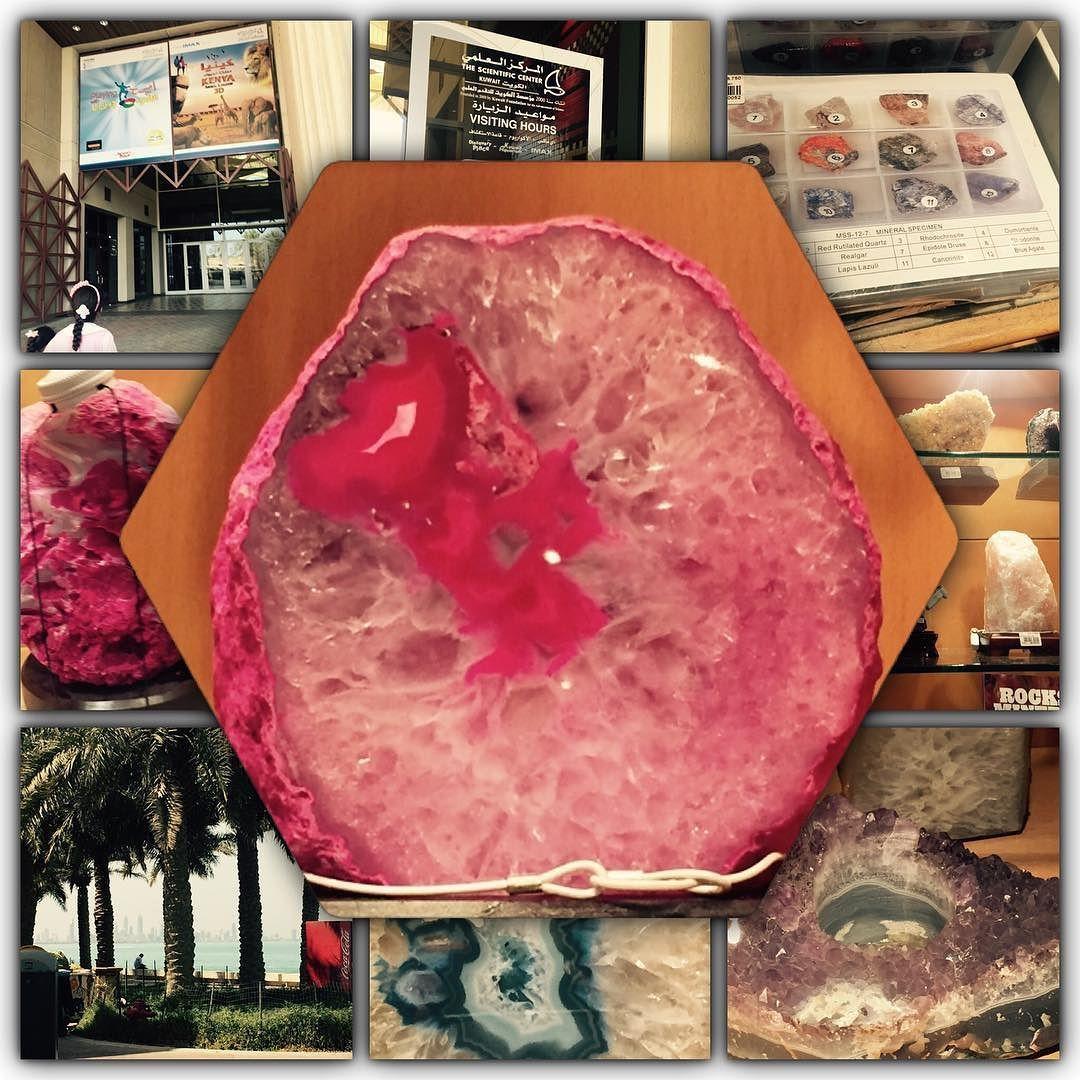 وسائل تعليمية مبتكرة On Instagram استمتعت بزيارة المركز العلمي انا وتلميذاتي الموهوبات حيث تعرفوا على انواع الصخو Instagram Posts Rocks And Crystals Crystals