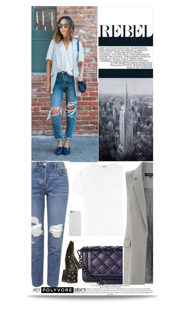 """""""REBEL"""" by makeupgoddess ❤ liked on Polyvore featuring Topshop, Charles Jourdan, Warehouse, Jimmy Choo and Case-Mate"""