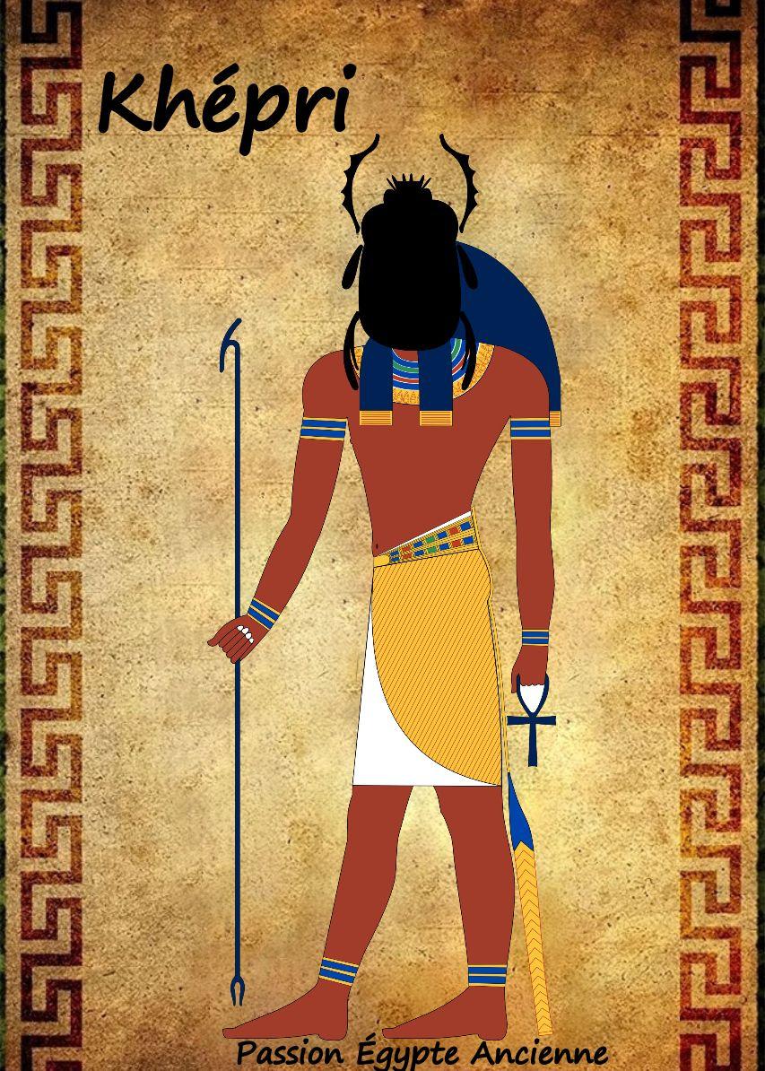 e02c44f9ea32f0 Dieu symbolisant le soleil du matin, la renaissance quotidienne de Rê. Son  nom signifie