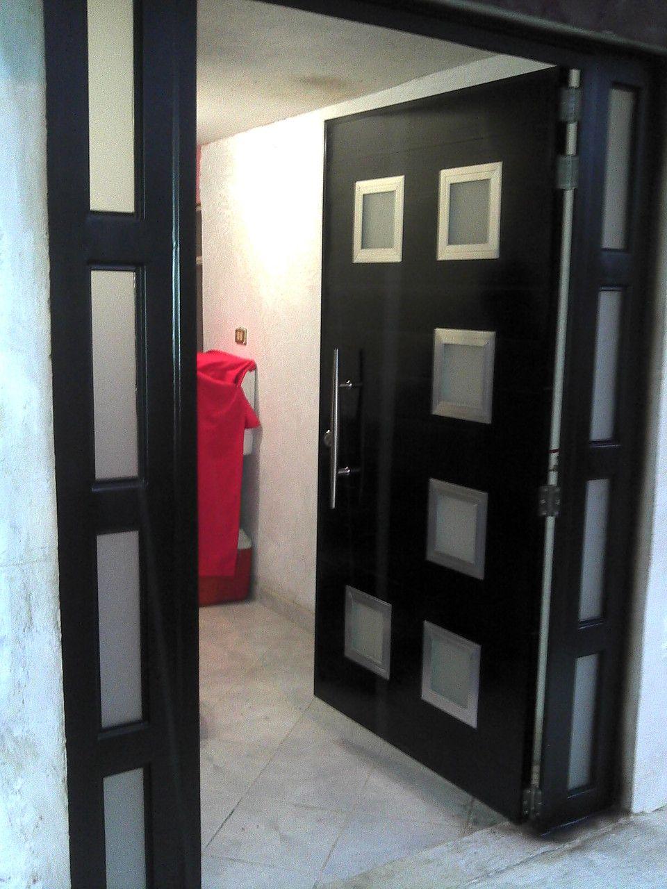 Portones Aluminio Xalapa Casas En 2019 Puertas Herreria Puertas