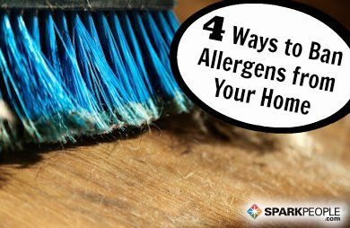 Easy Ways to Allergy-Proof Your Home   via @SparkPeople