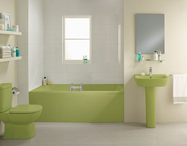 What Do You Think Of Idealstandarduk S Iconic Avocado Bathroom Suite Bathroomdesign