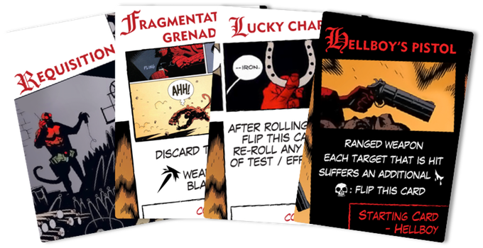 Equipment Hellboy The Board Game
