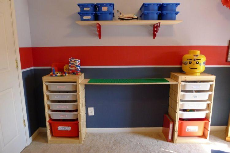 lego tisch f rs kinderzimmer selber bauen diy ideen f r tollen spieltisch einrichtungsideen. Black Bedroom Furniture Sets. Home Design Ideas