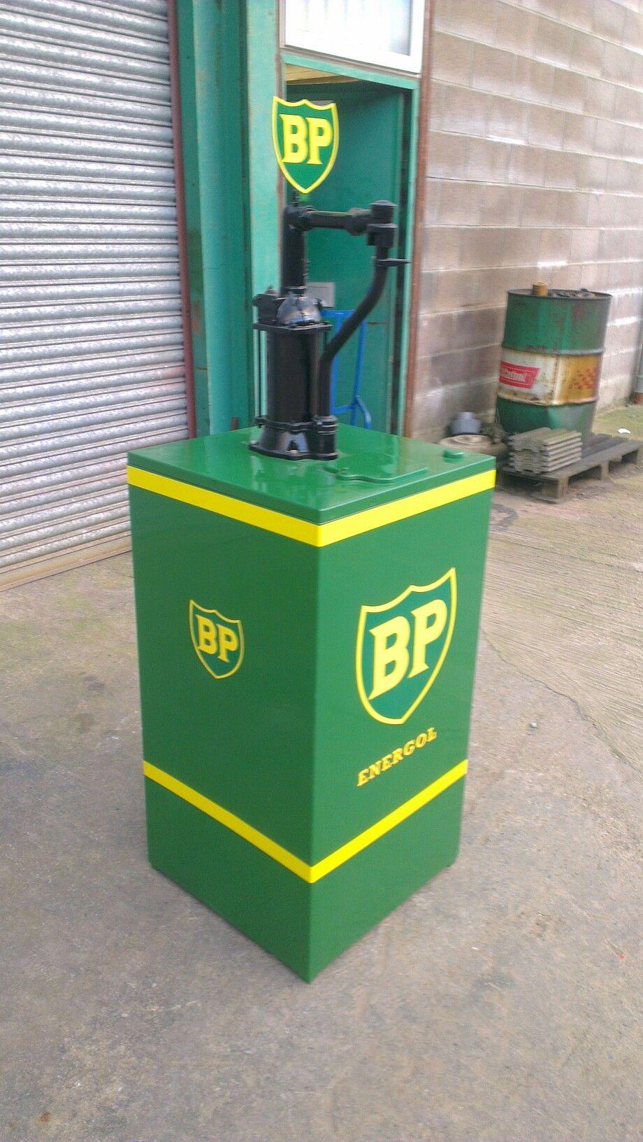 Bp Energol Oil Dispenser Vintage Gas Pumps Old Gas Pumps Old Gas Stations