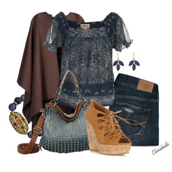 """Feeling Blue..."" by lbite1 on Polyvore"