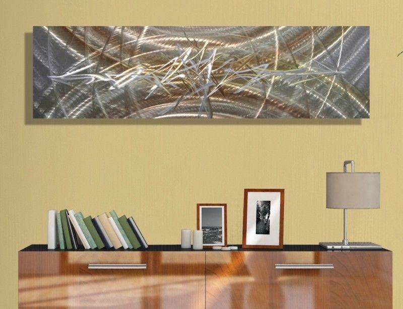 Contemporary Abstract Metal Wall Art Home Decor - Awakening by Jon ...