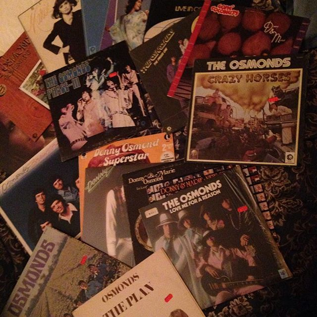 os lps all mix lp of the osmonds