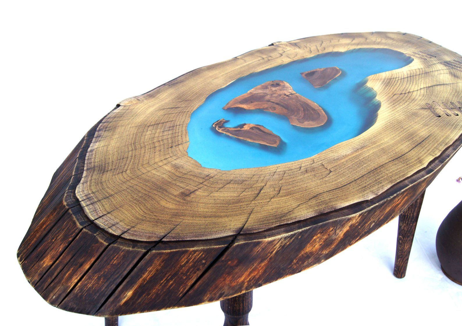 Live Edge Wood Slab Coffee Table Epoxy Resin River Desk Large Etsy Wood Slab Coffee Table Wood Live Edge Wood [ 1123 x 1588 Pixel ]