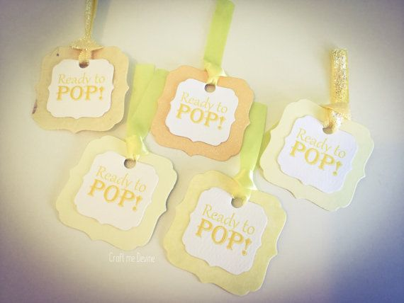 10 yellow and white handmade card 'Ready to Pop' by CraftMeDevine