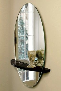 Hautelook Save Space Functional Wall Decor Mirror With Shelf Mirror Decor Mirror Wall Decor