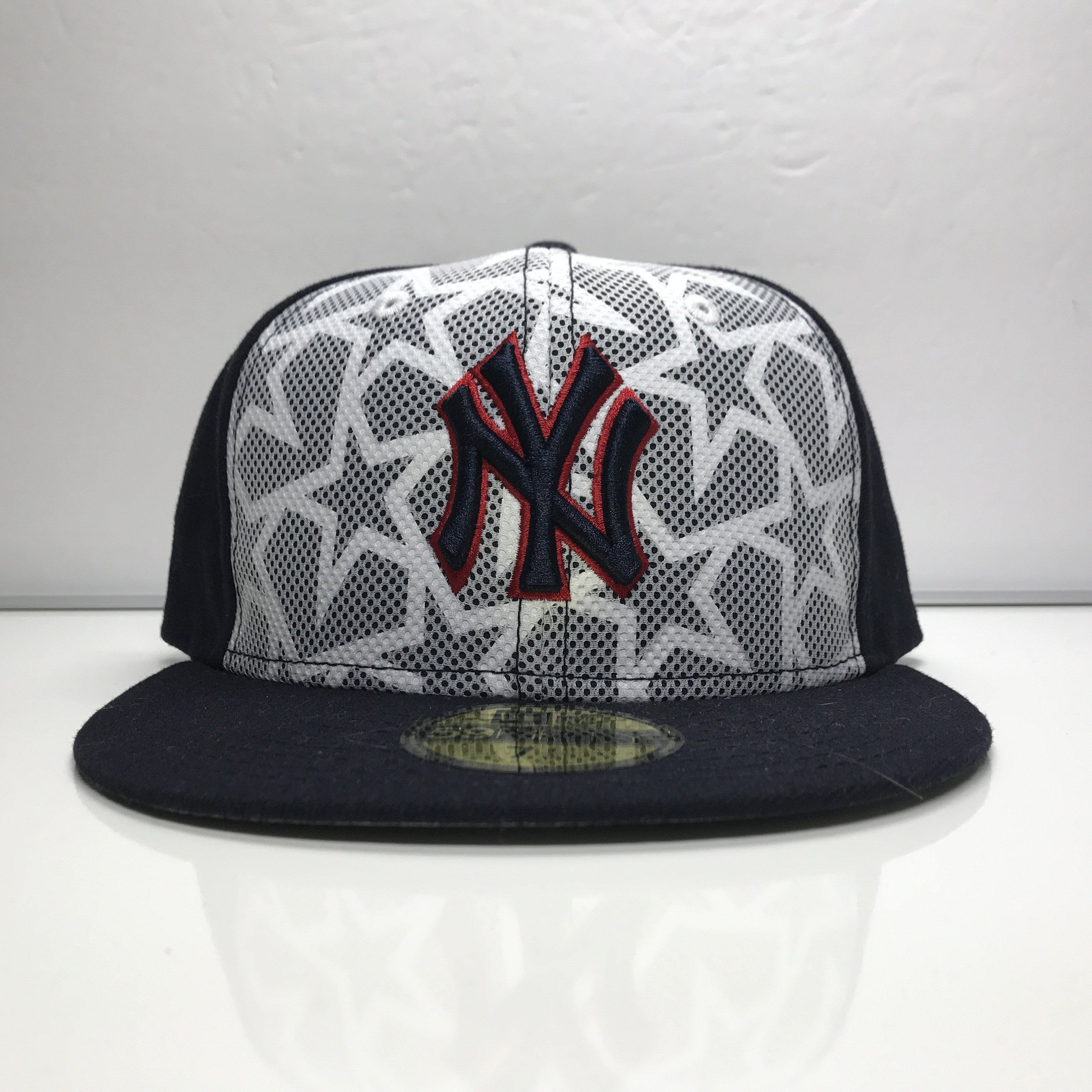 7c59e2a2de524 ... greece new york yankees new era 59fifty 4th of july fitted hat size 7 1  4
