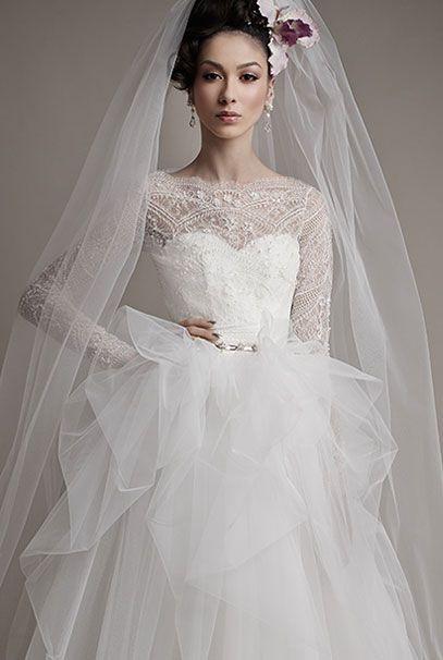 fa0da3dab7f Ersa Atelier 2015 свадебные платья Mavia