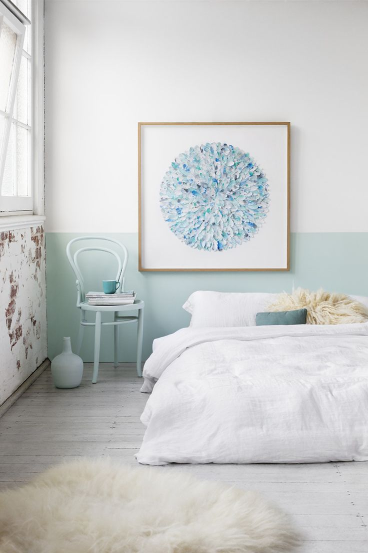 These half painted wall ideas will give you inspiration to refresh your bedroom or dining room