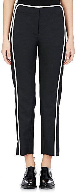 Paco Rabanne Crop Straight-Leg Trousers - Straight ...