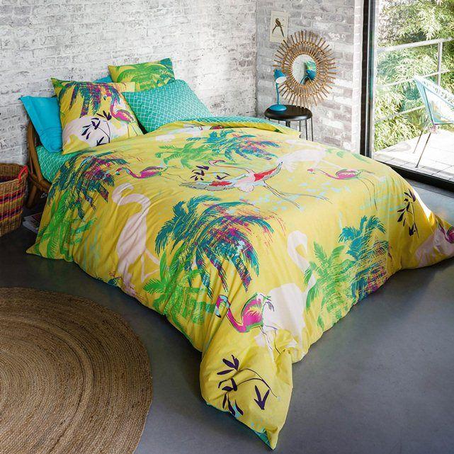 housse de couette flamingo la redoute interieurs beaches pinterest housse de couette. Black Bedroom Furniture Sets. Home Design Ideas