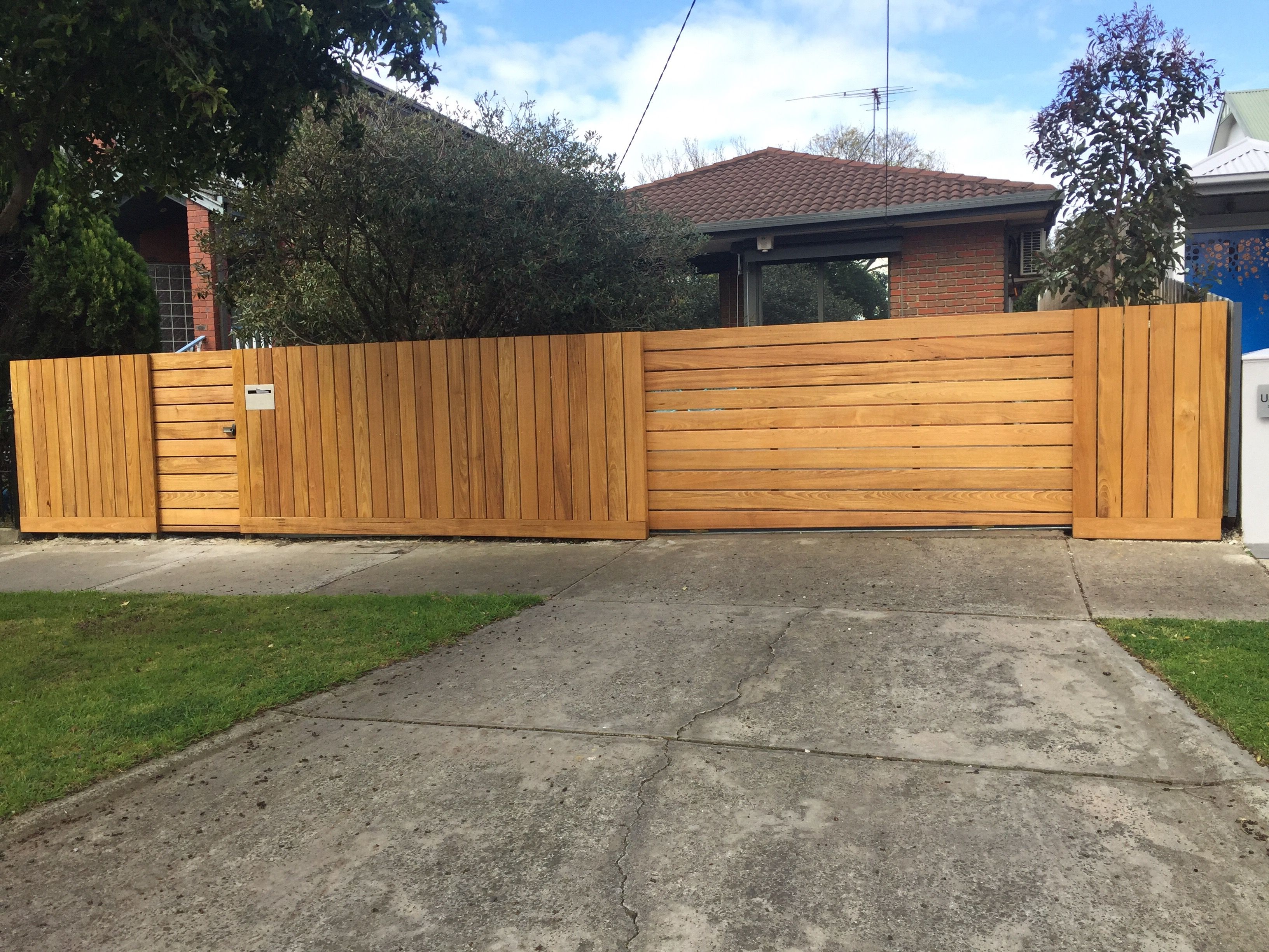 burned wood fence Yard fence ideas Pinterest