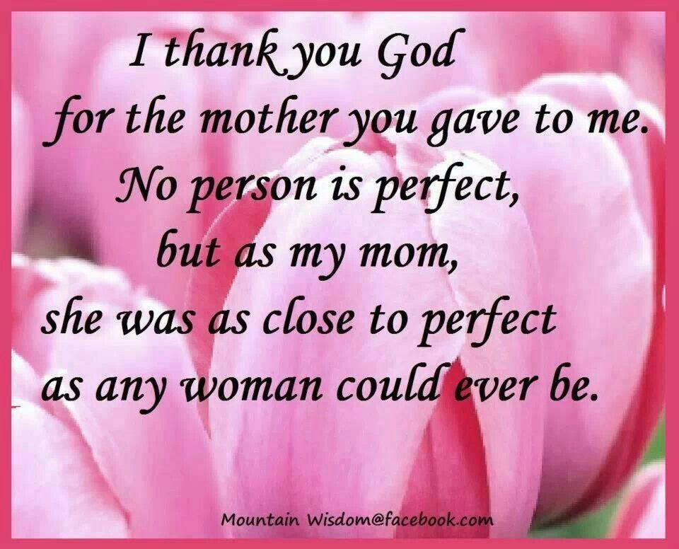 Love and Miss You Mom
