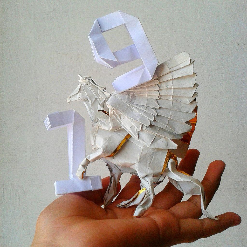 Pegaso B3 Satoshi Kamiya By Javier Vivanco Origami