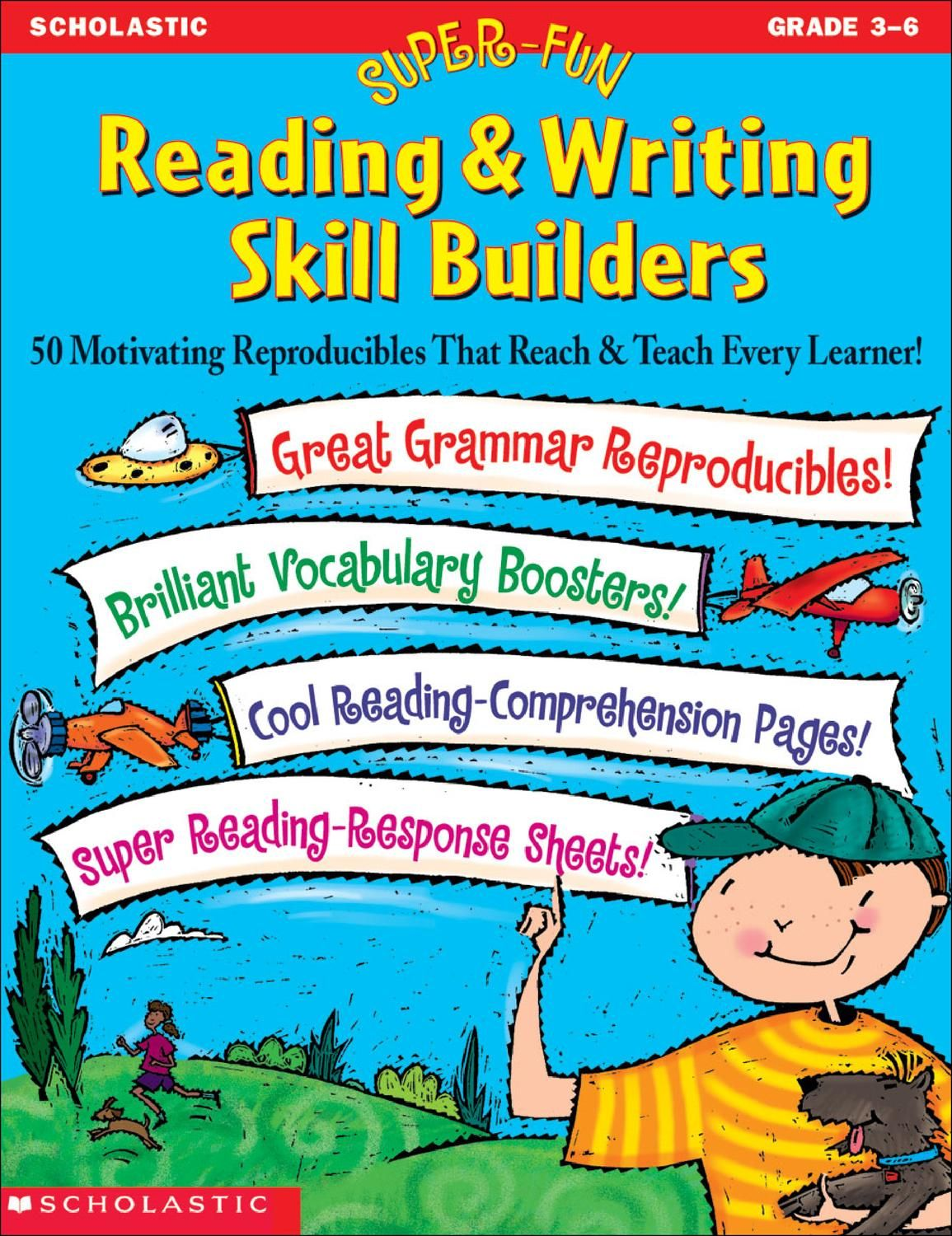 Reading & Writing Skill Builders - Gr 3 to 6 | Pinterest | English ...