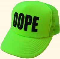 e206878f0eb88 Neon Green Dope Hat