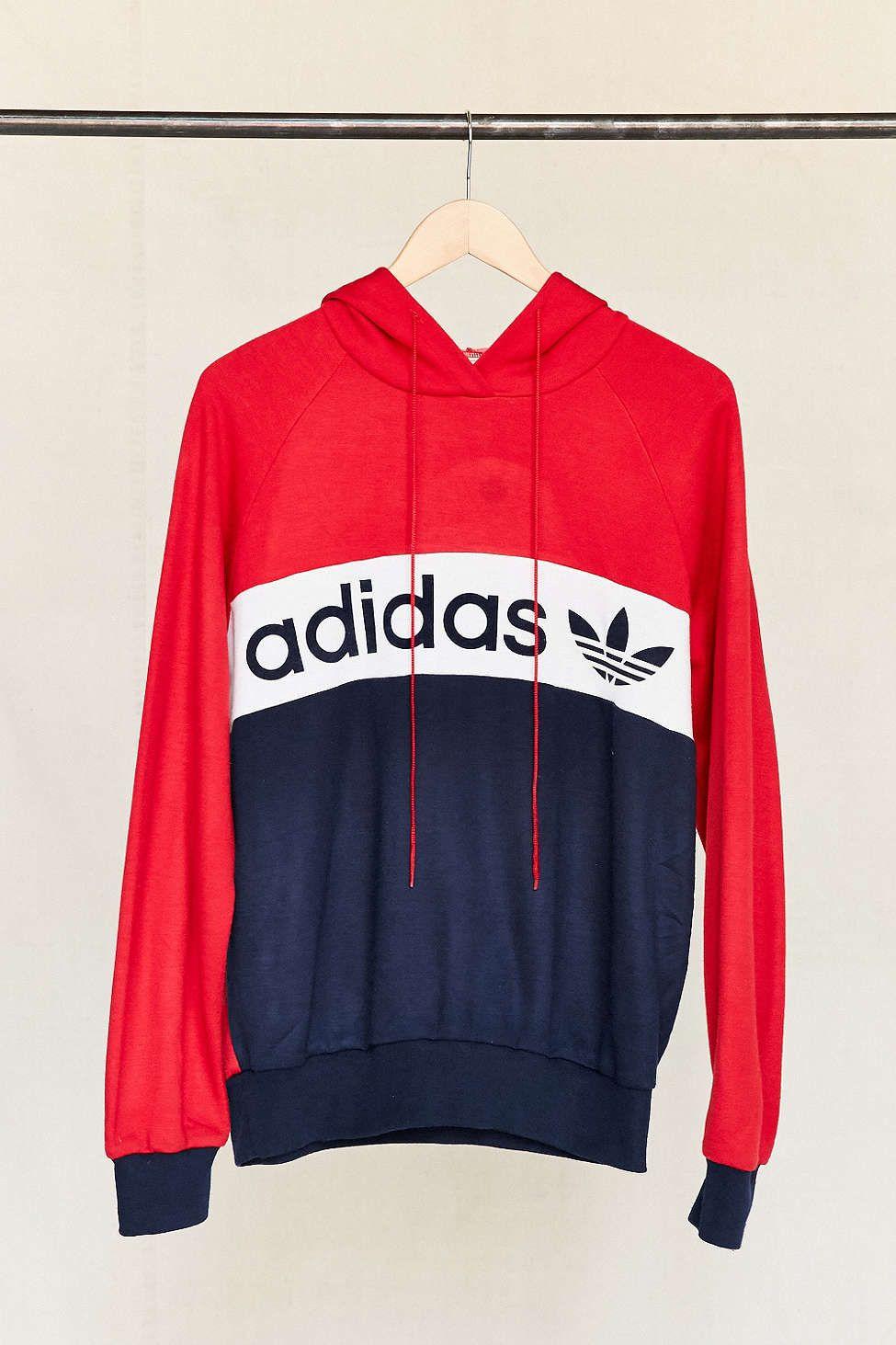 Adidas Originals Colorblock Hoodie Sweatshirt Sweatshirts Hoodie Sweatshirts Hoodies [ 2175 x 1450 Pixel ]