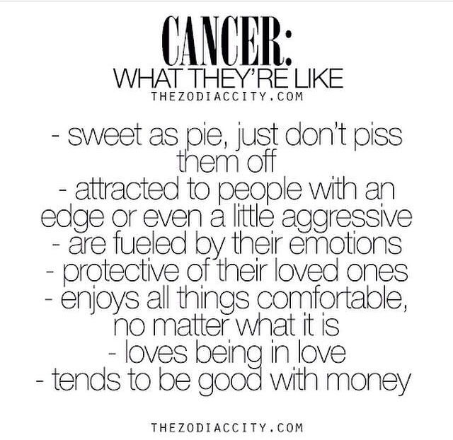 Cancers I only wish the money part was true   :D | Cancer