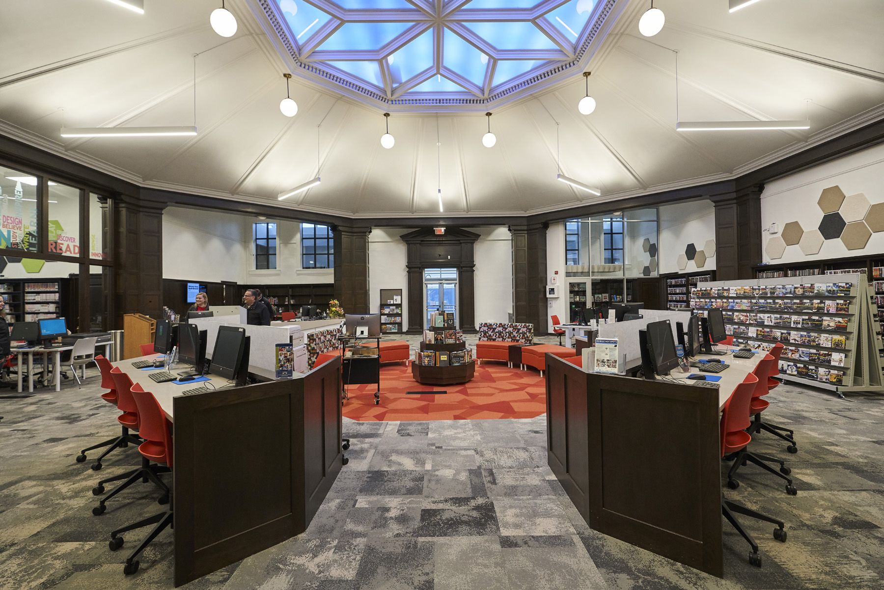 South Branch Cleveland Public Library Interiors Discover More