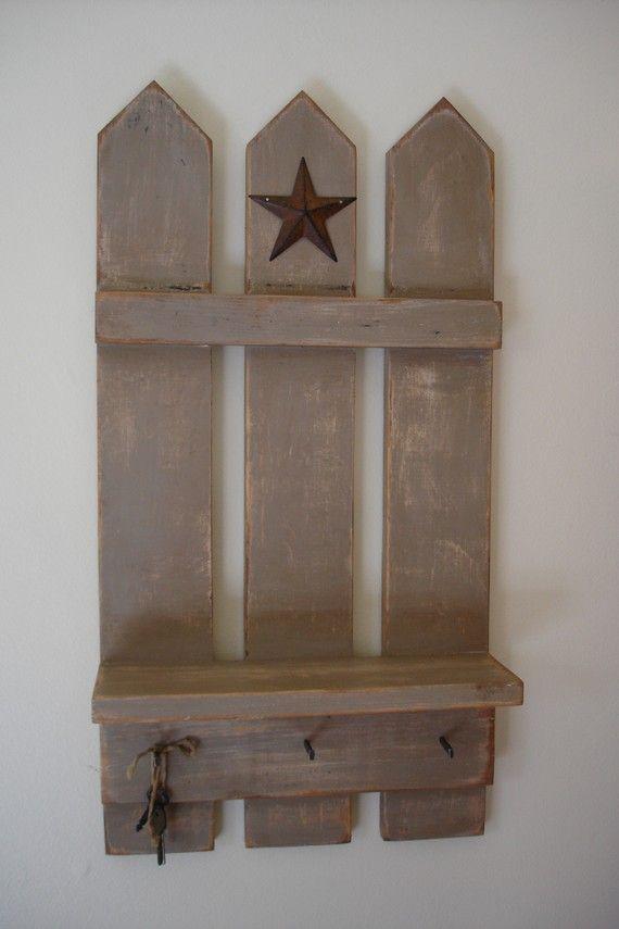 DIY? idea...use picket fence or pallet wood