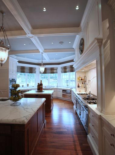 The Kitchen At Frick Estate A New Stone Mansion In Alpine NJ Interior Designer Terence Mack Of Sparkill Did Interiors