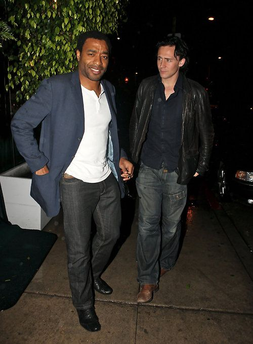 Tom Hiddleston and Chiwetel Ejiofor | February 6, 2010 via #torilla
