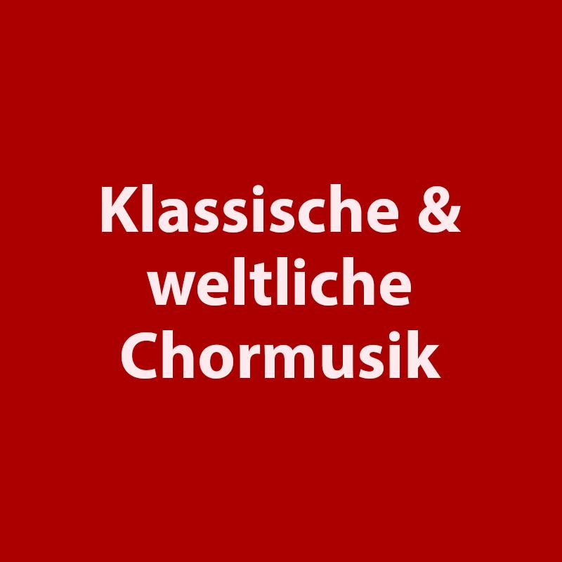 Die klassischen, weltlichen Chorlieder gehören zum Standardrepertoire jedes Cho… – Arrangement-Verlag