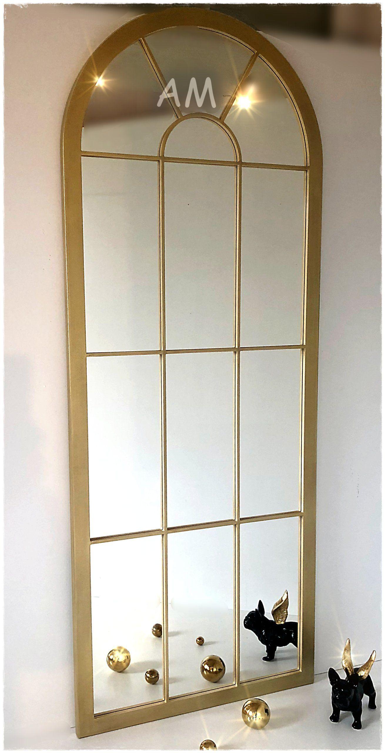 Fantastyczne Zlote Duze Lustro Okno Super Look 7569015785 Oficjalne Archiwum Allegro Mirror Oversized Mirror Decor