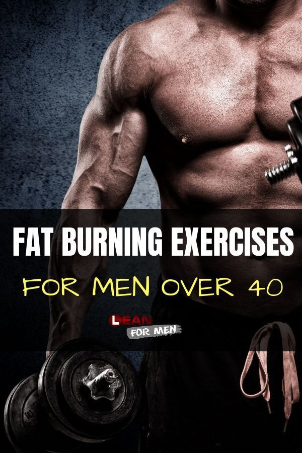 Burn fat over 40