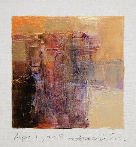 Hiroshi Matsumoto painting