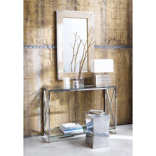tabouret m tal copenhague console et miroir helsinki maisons du monde home whitewood. Black Bedroom Furniture Sets. Home Design Ideas