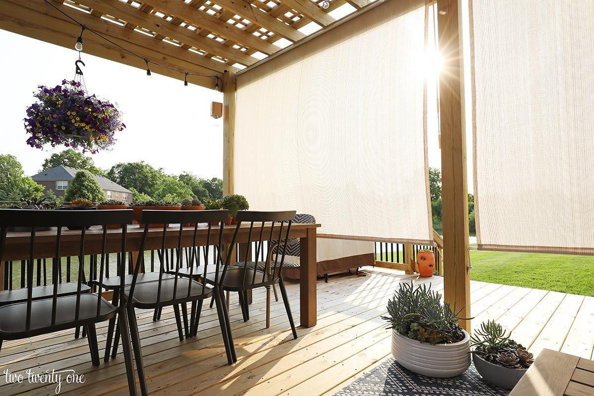 Summer Deck Styling Shade Patio Sun