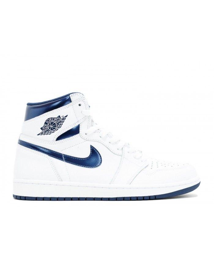 promo code bce07 4c4b5 Air Jordan 1 Retro High Og White Midnight Navy 555088 106