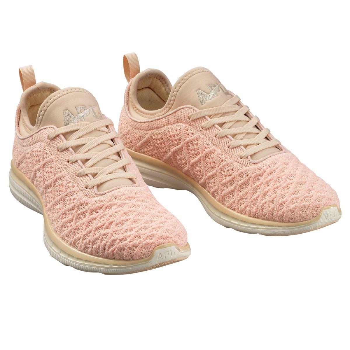 APL Women's Running Shoes TechLoom Phantom Blush/Cream
