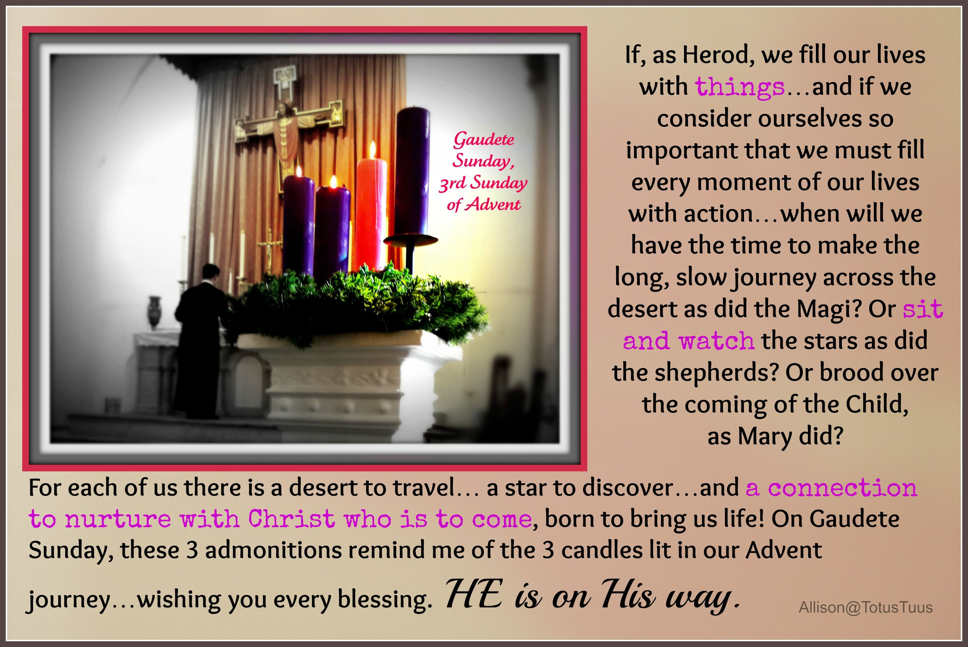 11 Inspiring Advent Christmas Quotes Prayers And Bible: Third Sunday Advent Quotes Catholic. QuotesGram