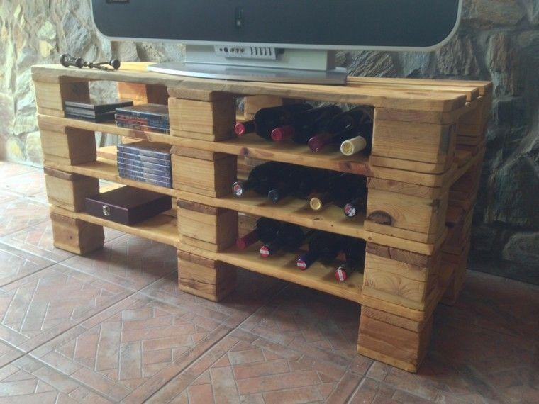 Muebles hechos con palets de madera, cincuenta ideas | Pinterest ...