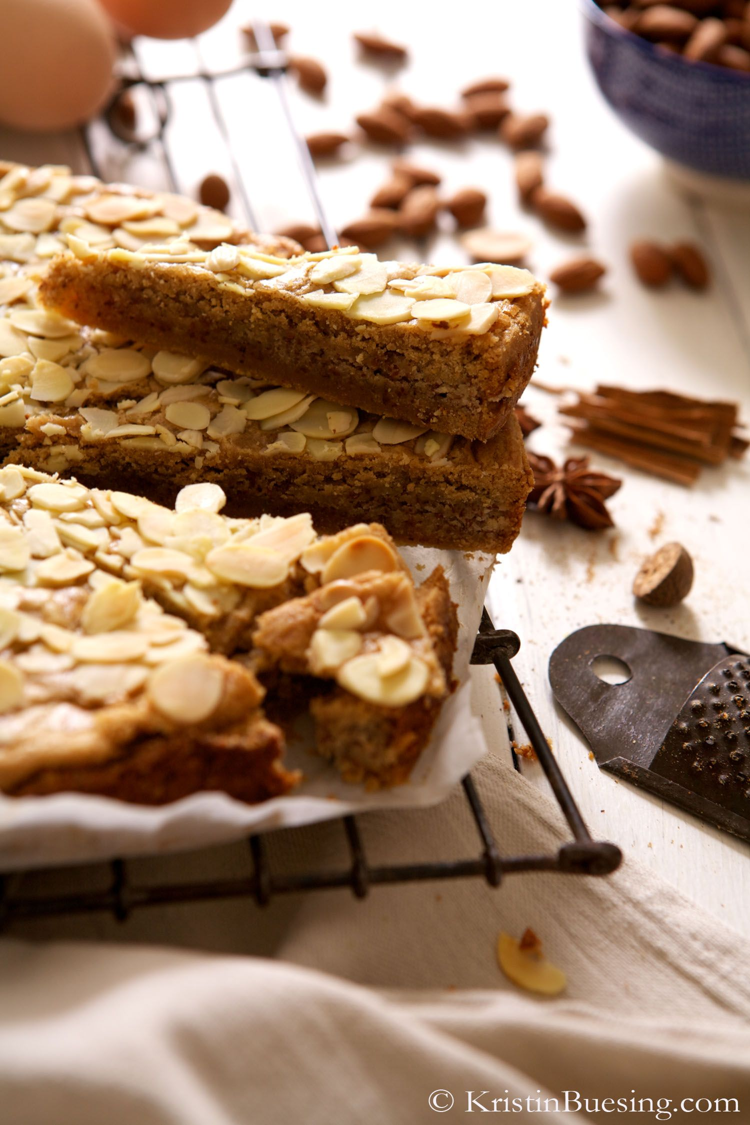Dutch Filled Spekulatius Cake With Self Made Almond Paste Food And