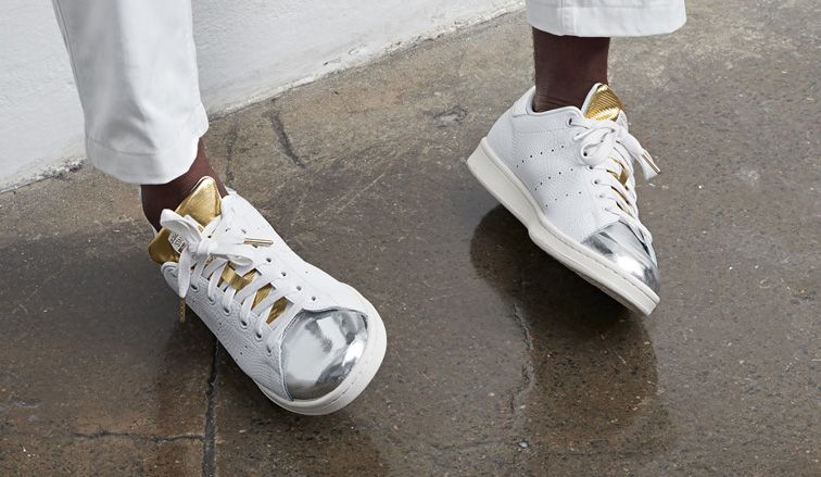 Adidas Stan Smith Gold Metallic