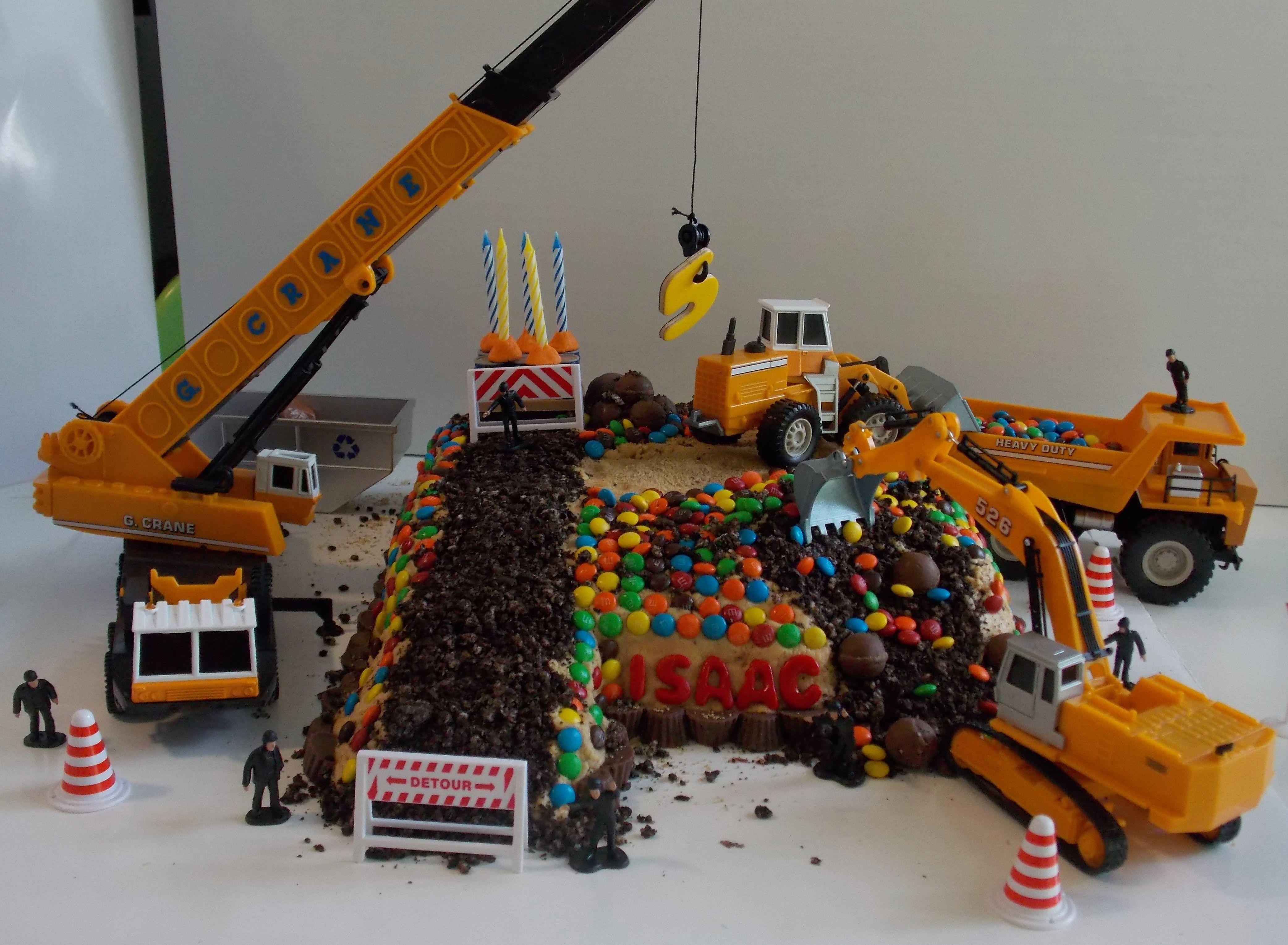 crane birthday cake