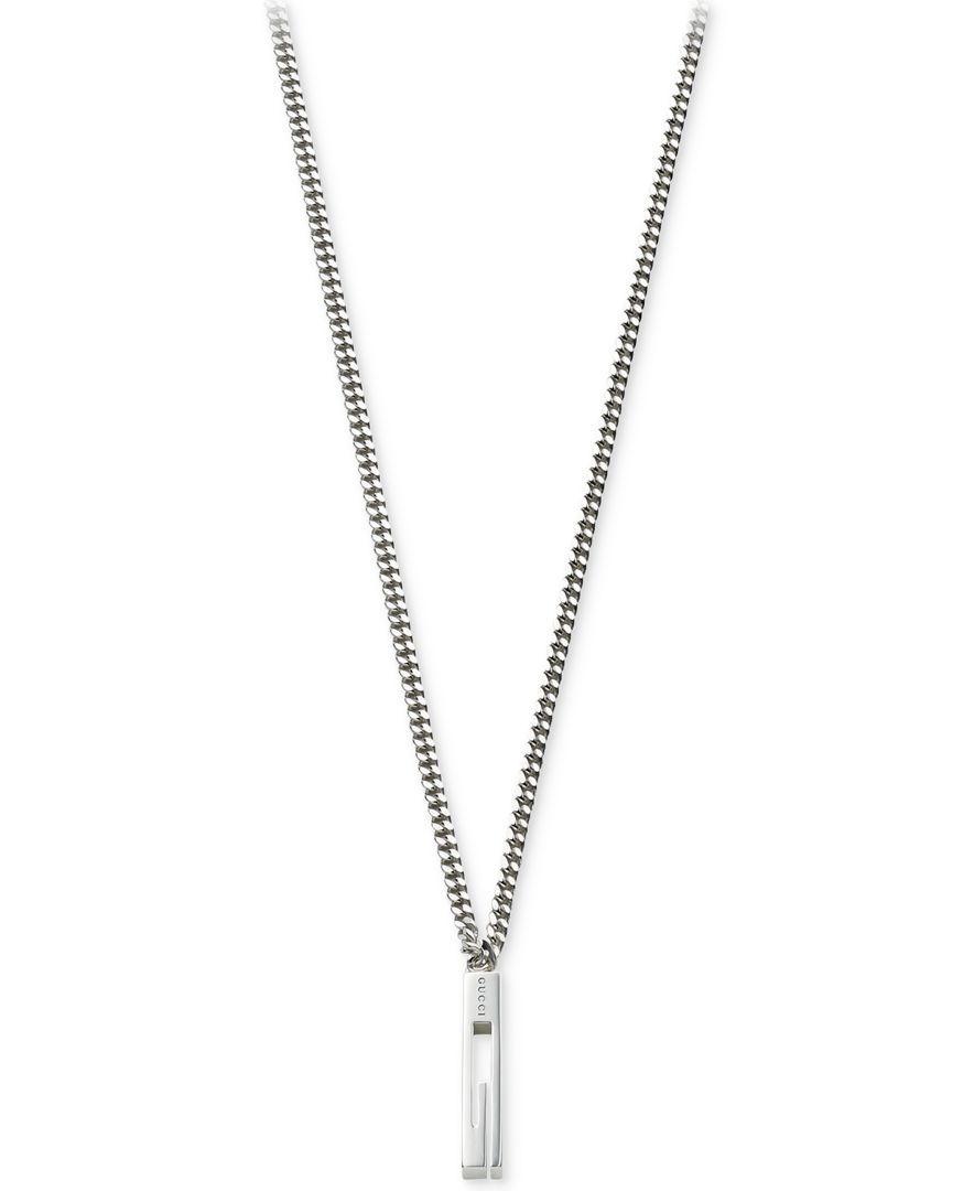 Gucci mens sterling silver small g pendant necklace ybb22505500100u gucci mens sterling silver small g pendant necklace ybb22505500100u aloadofball Images