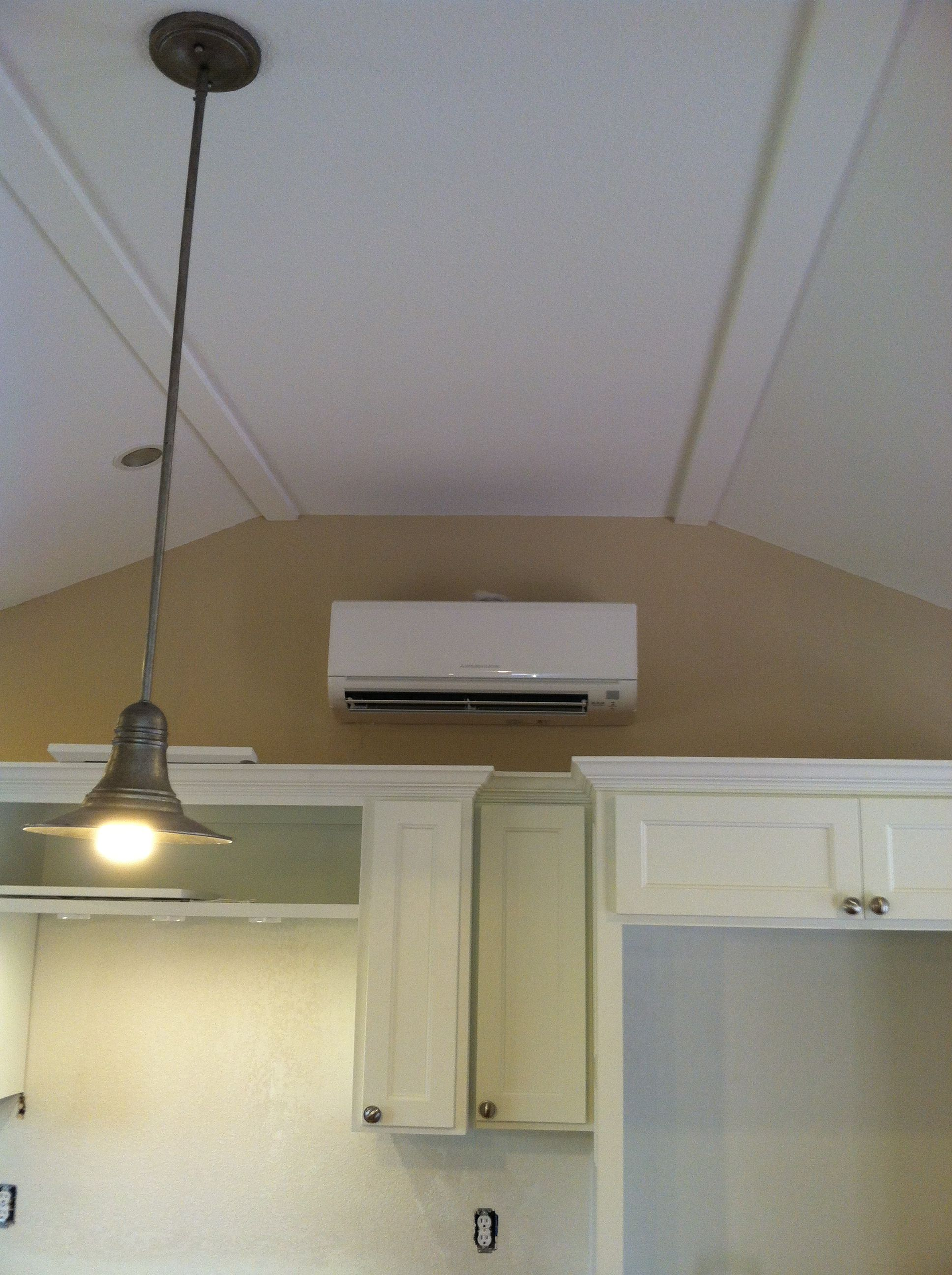 Mitsubishi WallMount Ductless unit. (With images