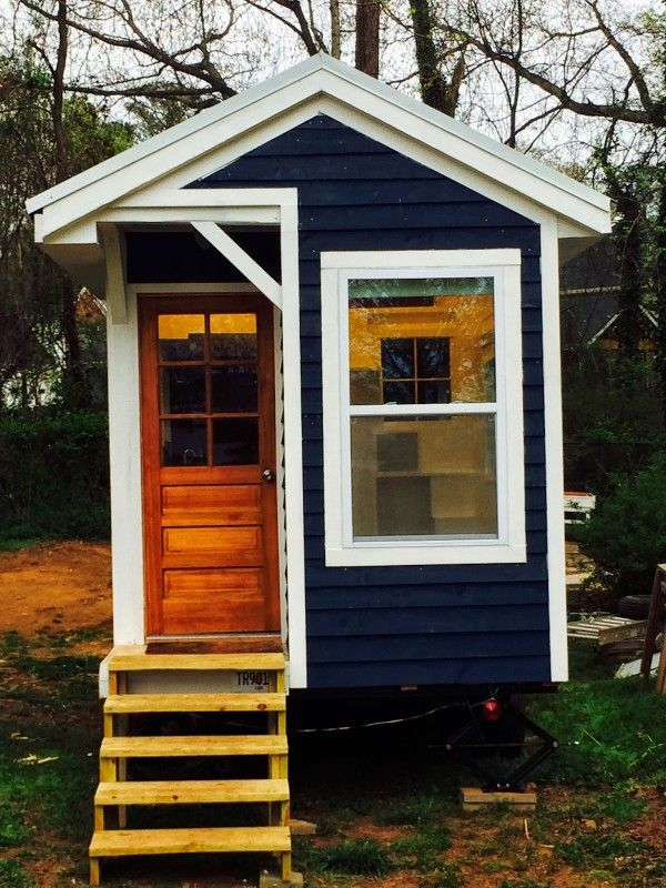 La Pee Maison Tiny Home 001 600x800 Builds Her Own For 9k This Link Also Has Ted Talk In It