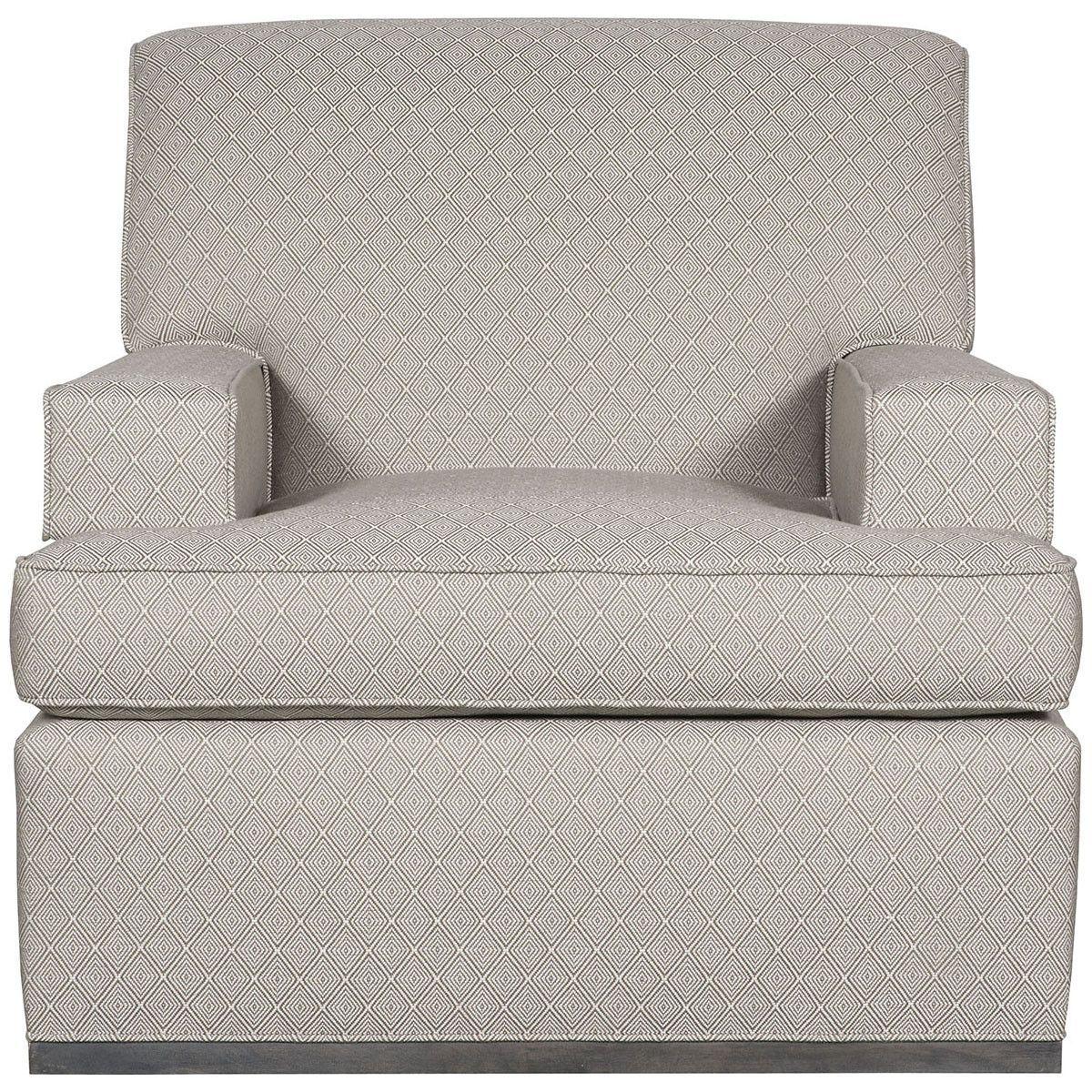 Vanguard Furniture Hobart Graphite Panos Swivel Chair