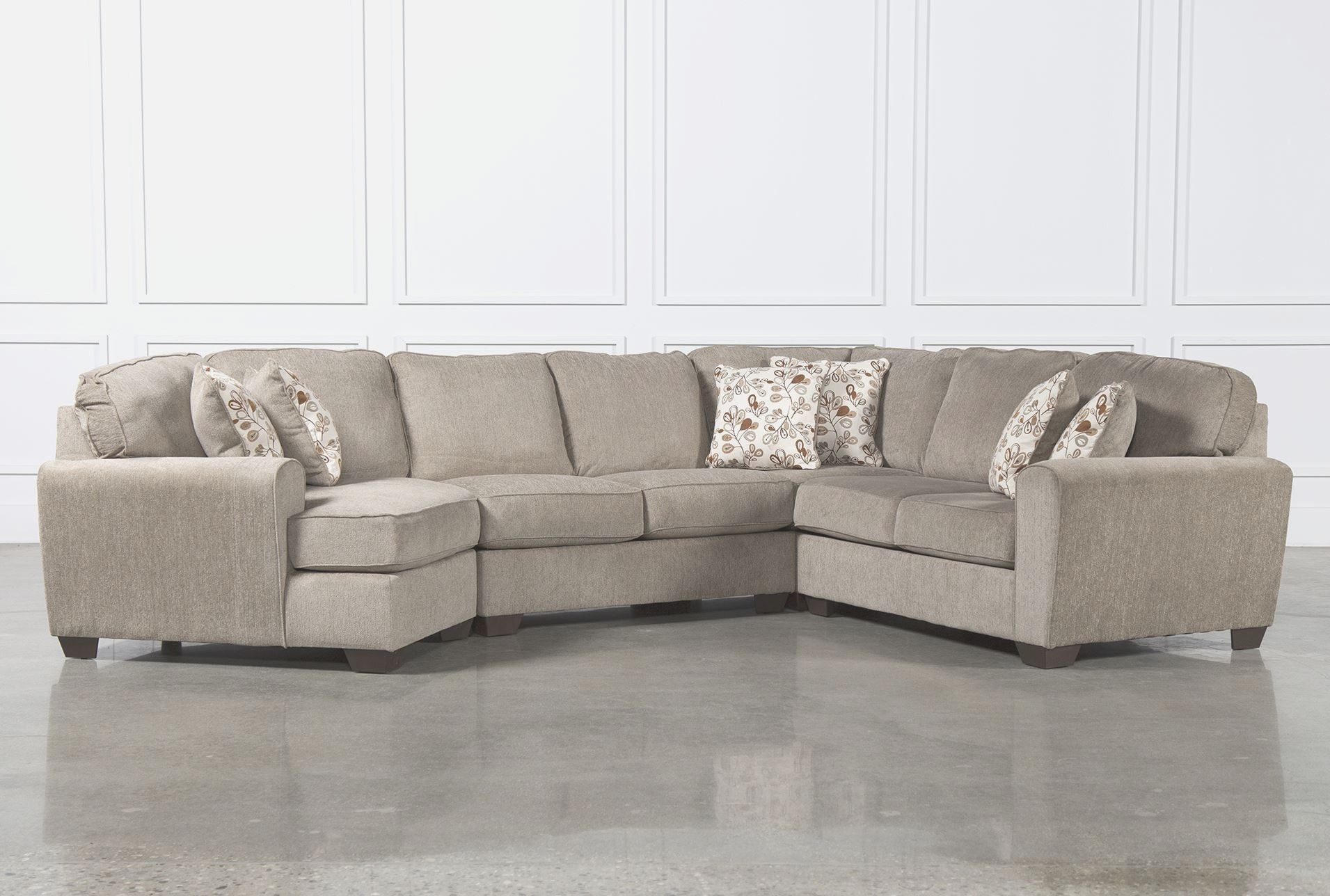 4 Piece Sectional Sofa With Chaise 4 Piece Sectional Sofa With